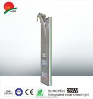 All In One 20W solar street light for sale in philippines For Courtyard Garden Use 5 Years Warranty
