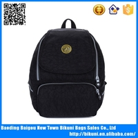 China manufacturer unisex fashionable 600D nylon backpacks for teens
