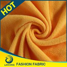 Hot sale Clothing Material for blanket Knit stencil lint free wipes fabric