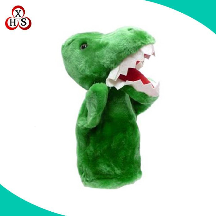 Make your own super soft cute dinosaur hand puppet