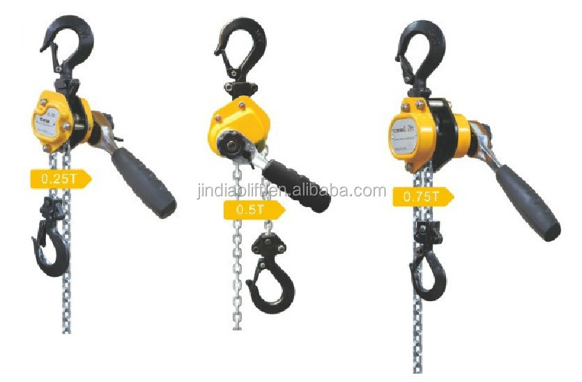 Newly -designed 250kg Mini Lever Hoist/Chain Lever Block type HSH-L