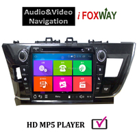 Android 4.4 9Inch TOYOTA COROLLA 2014 LHD car dvd gps navigation system