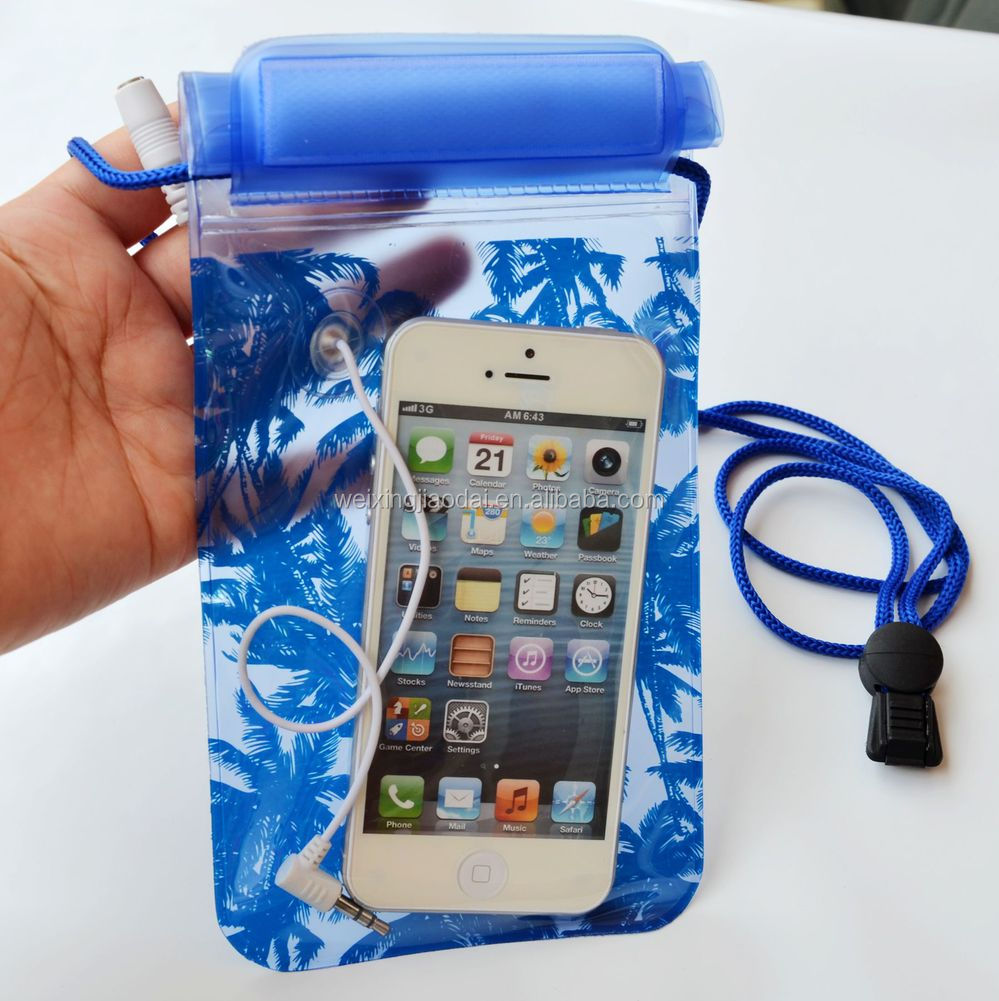 For Cell Phone Mobile Phone PDA New Waterproof Pouch Dry Bag Cover Case Skin