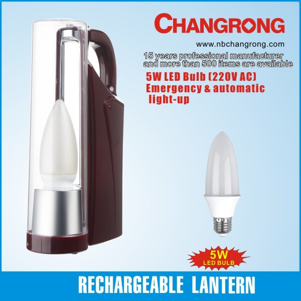 rechargeable portable bulb light emergency lantern with bulb