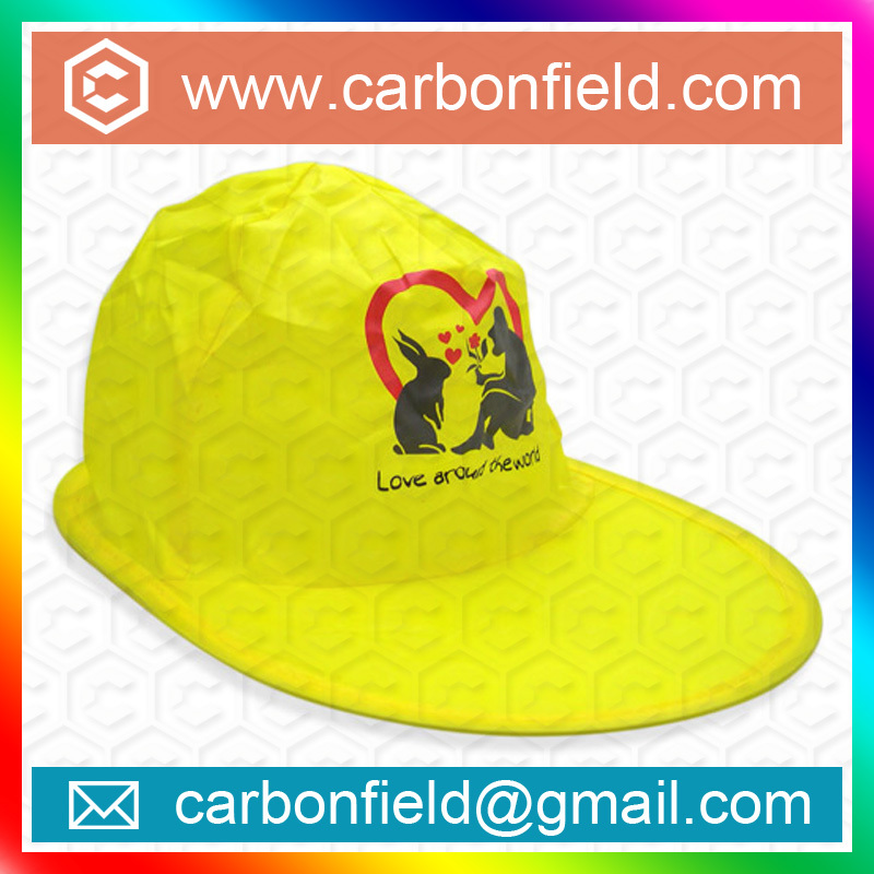 Good selling and hot polyester folding baseball cap