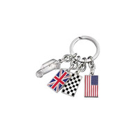 European Style Flags And Car Charm Accessories Key Chain For The Best Gift