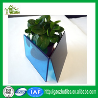 french colored waterproof triple layer GE lexan cheap uv coating high quality raw material pc sheet for greenhouse skylight