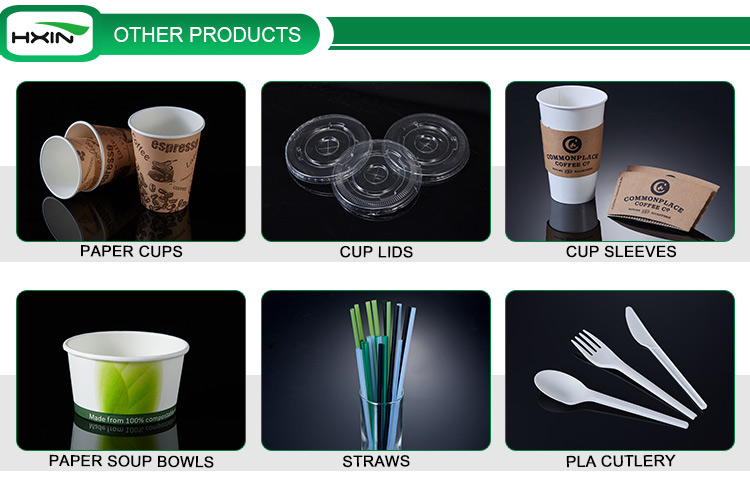 20oz double wall paper cup biodegradable coffee cup custom logo printed cups