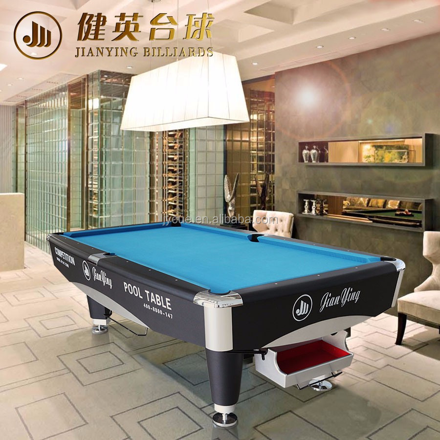specialized production custom made in china 9ft custom pool table