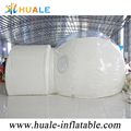 Huale inflatable portable clear house ,inflatable clear dome for camping