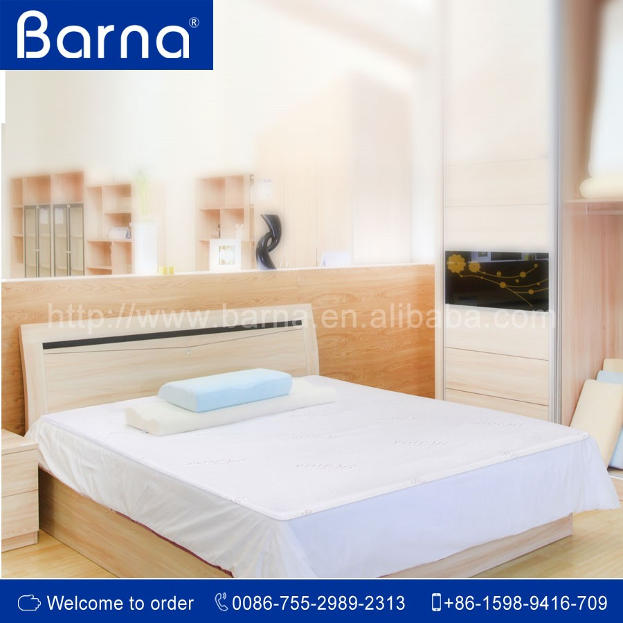 2016 new design folding memory foam comfort bed mattress pad