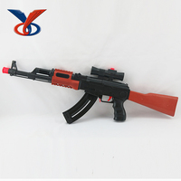 Emulational plastic air soft bbs gun sniper with EVA bullets