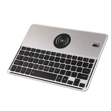for smart phone accessories Bluetooth Keyboard with QI Wireless Charger