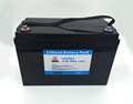 Rechargeable 12v 100ah lifepo4 battery pack for solar storage