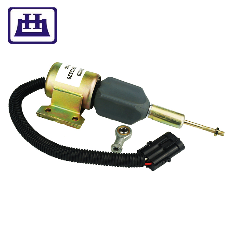 High quality Auto <strong>Parts</strong> for Wholesale 12V Shut Down Solenoid for Diesel Engine and Excavator Use