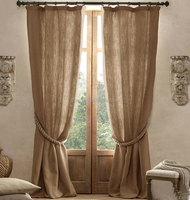 2014 cheap polyester window living room curtains