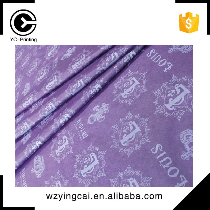 Color copy tissue waterproof wrapping paper for flower
