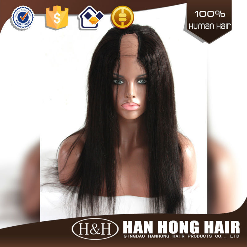 Accept Paypal Wholesale Human Hair U Part Wig For Black Women