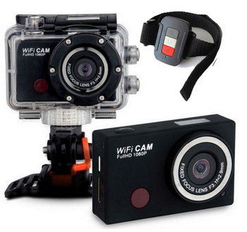 5.0MP wifi Action Camera Full HD 1080P Sport camera+Remote control SY5000
