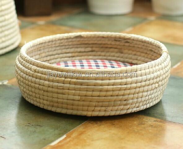 Handmade Wicker Dog Basket : Handmade wicker baskets for dogs pet sleeping