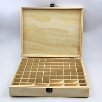 Customized natural essential oil wooden box with lid