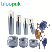 Eco-friendly reclaimed material plastic cosmetic bottle