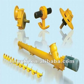 Excellent Quality screw conveyor component/cardan joint/Hanging bearing/Spiral blade/motor reducer