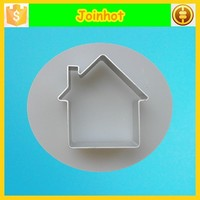 3D house stamps aluminum cookie cutter