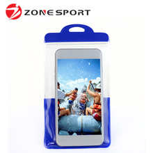 Customized Logo PVC Unbreakable Waterproof Cell Phone Case
