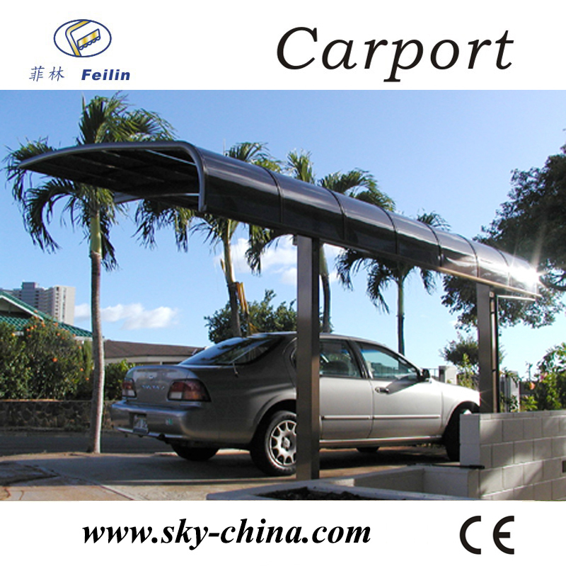 foldable car shelter with polycarbonate carport