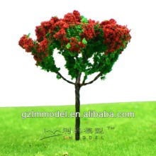 G Series Iron Wire Artificial Fower Tree Model for Train Layout HO scale