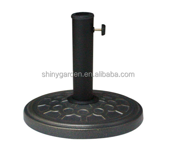 garden sun umbrella base, concrete base