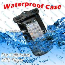 Built-in Earphone Waterproof Armband Case Bag For cell phone/MP3 player