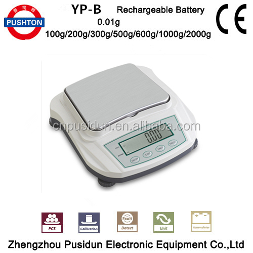 2017 Pushton with High-accuracy Economical Electronic Digital Precision Balance 2000g/0.01g