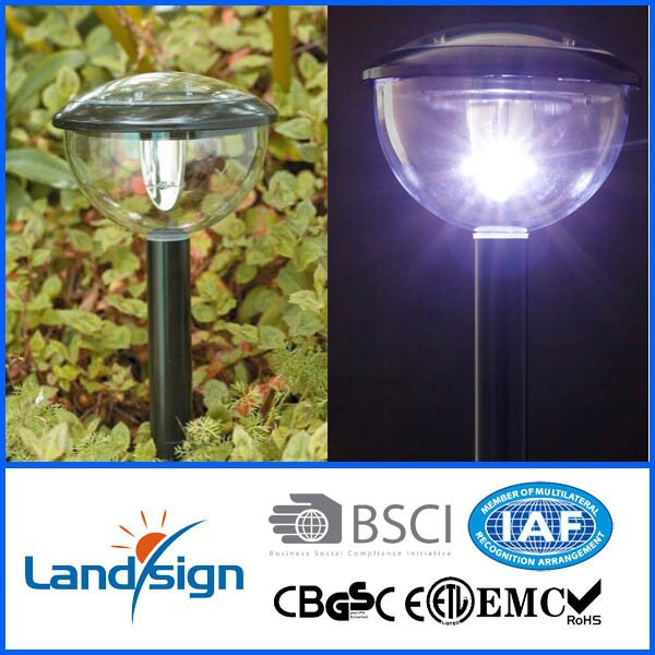 Cixi landsign solar pathway light series nled garden solar lamp for outdoor solar outdoor light