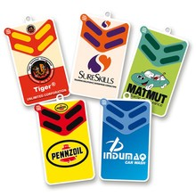 Custom scent paper car air freshener with custom logo printing