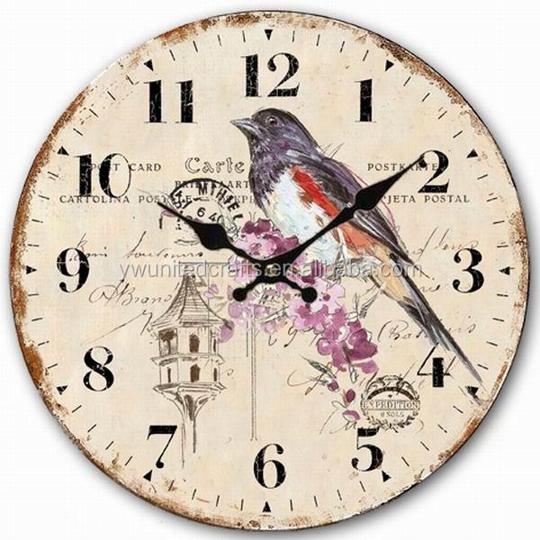 Oak wall clock bathroom wall clocks wallclocks buy oak for Bathroom clock ideas