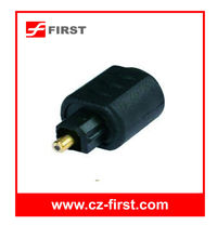 3.5mm high quality optical adapter mini jack to toslink plug