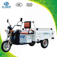 Factory directly sell 3 wheel battery operated cargo trike for sale