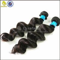Luxefame Hair High Quality 100% virgin Brazilian loose wave,wholesale price hair extensions