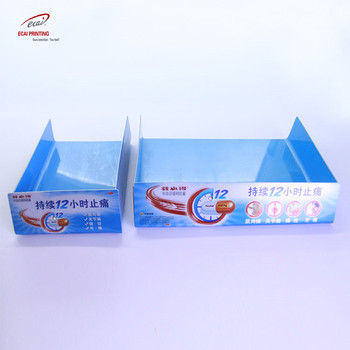 Custom High Quality Plastic Pvc Advertisement Display Table Card