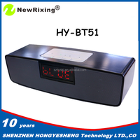 NewRixing 2016 stereo subwoofer bluetooth speaker with display screen