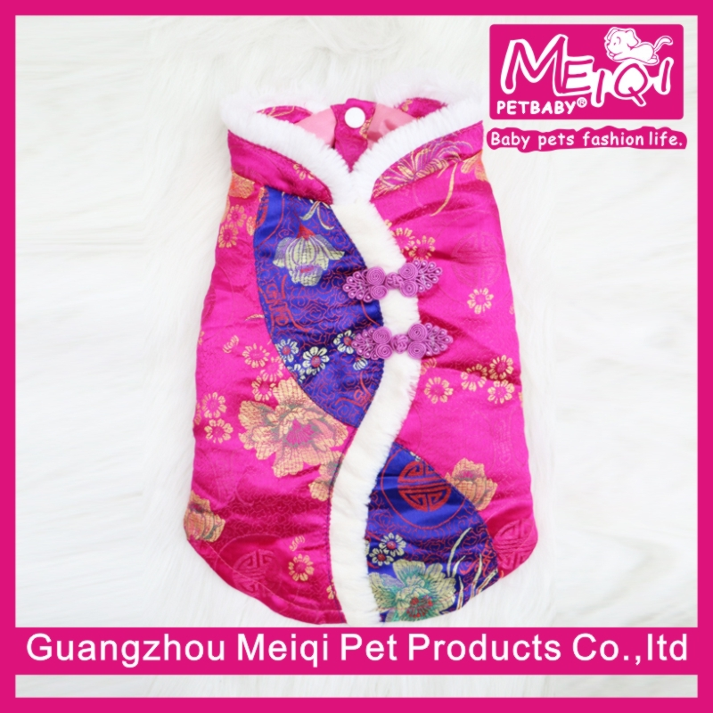 New Launching Clothes In China Warm Chinese Tang suit Coat Dog Clothing