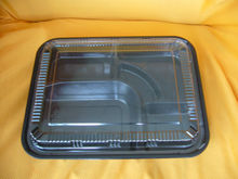 clear plastic disposable bento/ lunch fast box -for food