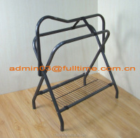 Horse Harness Metal Products Hardware Saddle stand, Rad rack