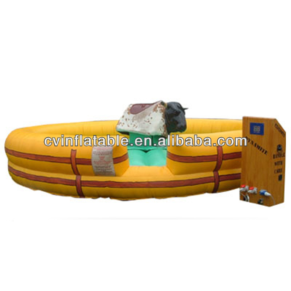 Inflatable Mechanical Bull for rent,mechanical bull riding for sale,inflatable bull riding machine