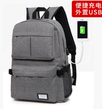 Laptop Anti theft USB Port laptop Backpack with USB Charger with power bank