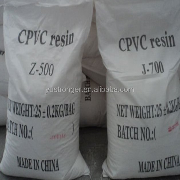 <strong>Used</strong> for pipe white powder CPVC resin
