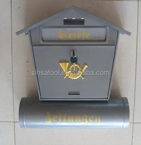 manufacturer wall mount steel mailbox cabinet post box
