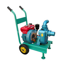 Self-priming centrifugal pump agricultural water pump, movable diesel irrigation water pump unit